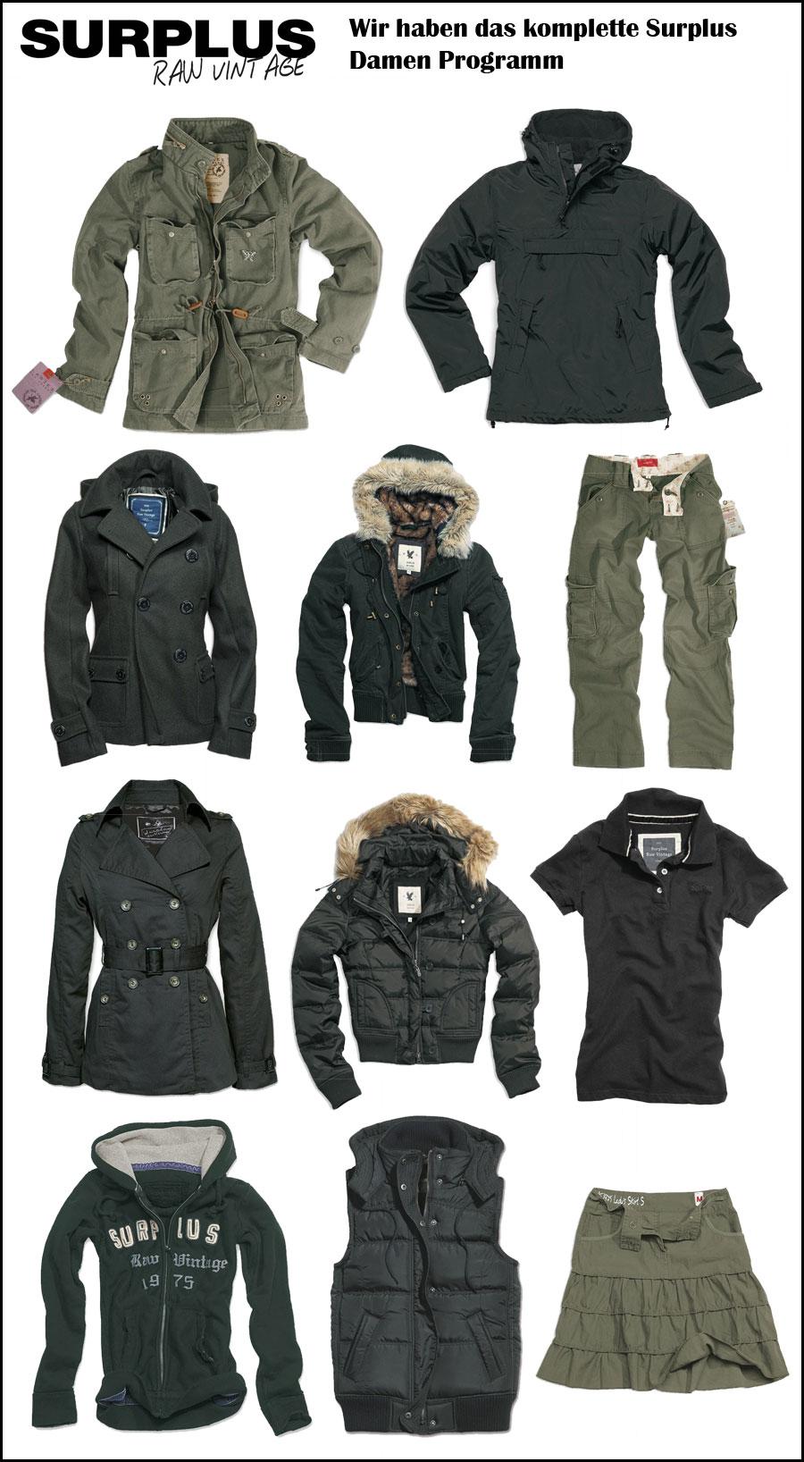 Одежда Surplus Купить