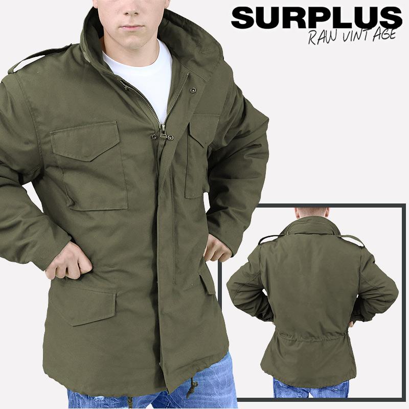 surplus m65 feldjacke jacke parka fieldjacket winter jacke us ranger s xxl. Black Bedroom Furniture Sets. Home Design Ideas