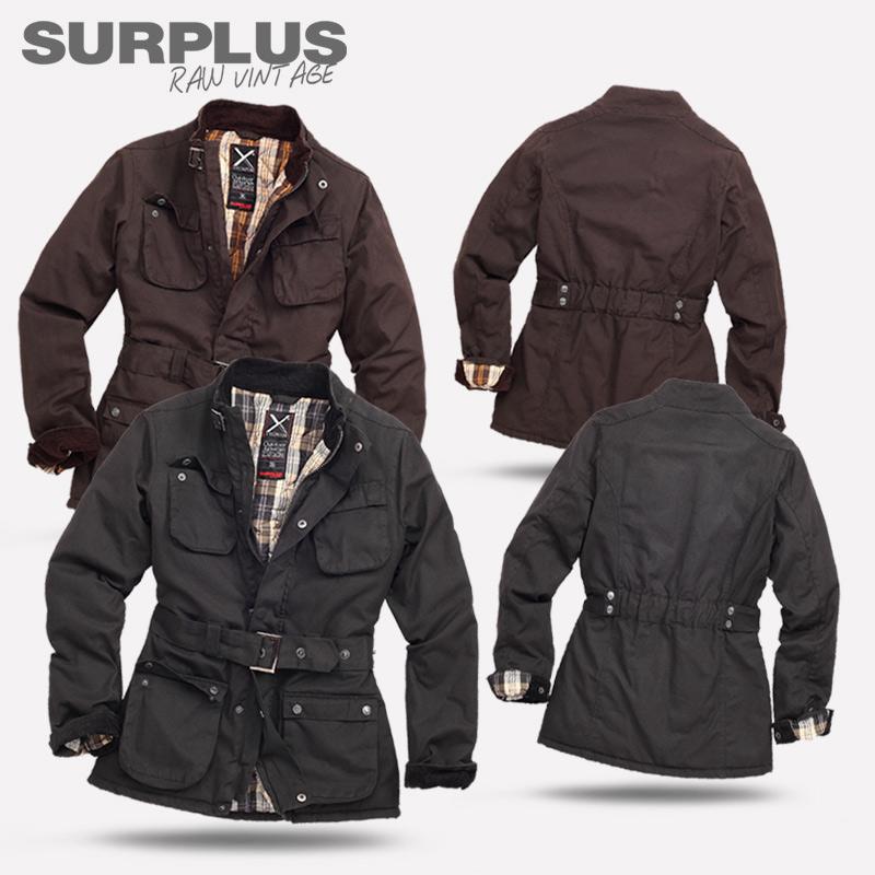surplus raw vintage damen function outdoor jacke mantel. Black Bedroom Furniture Sets. Home Design Ideas