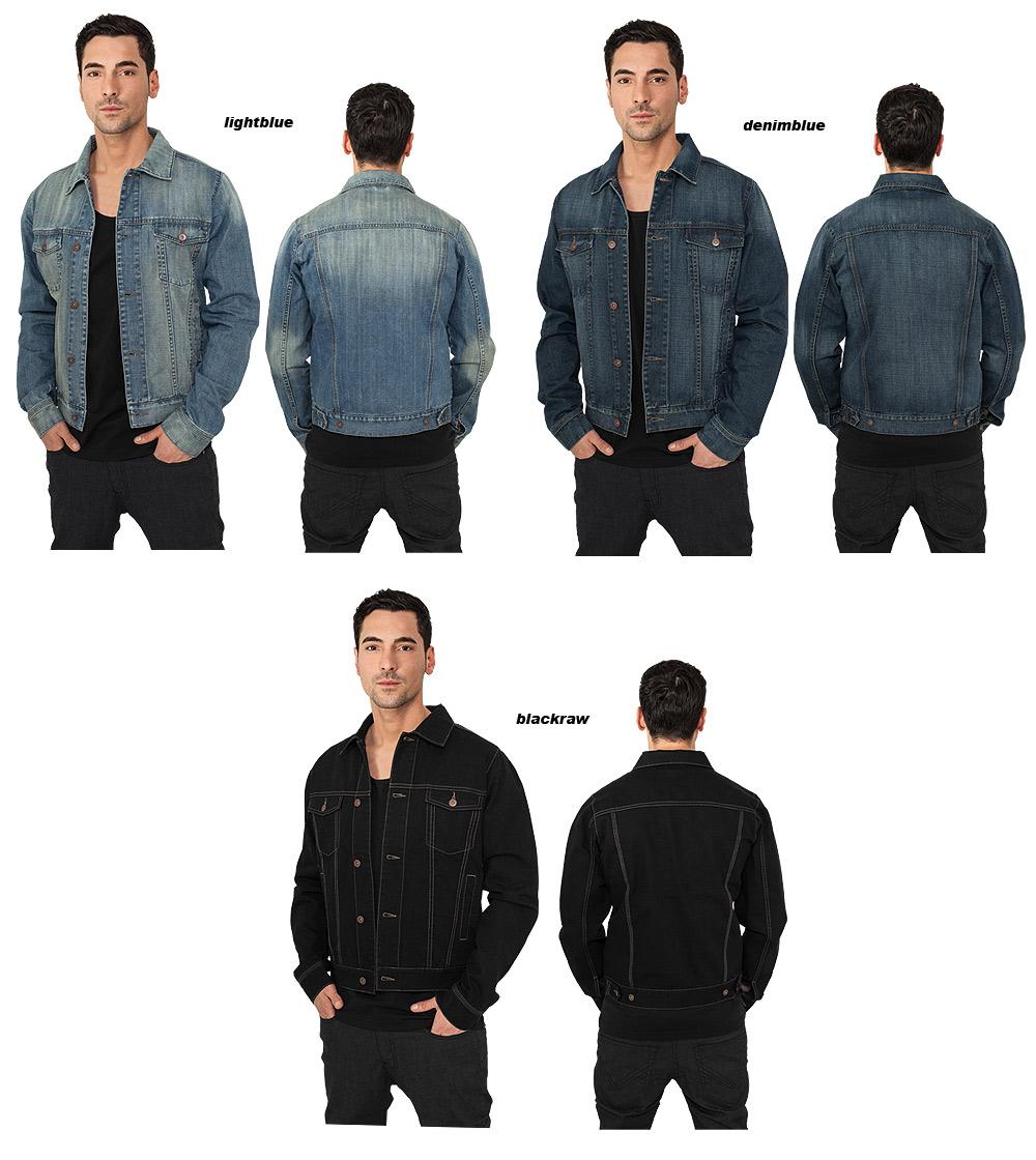 urban classics men 39 s denim jacket jeansjacket ebay. Black Bedroom Furniture Sets. Home Design Ideas