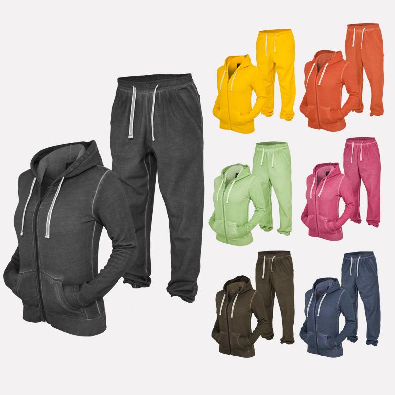 urban classics spray dye damen suit jogginganzug jumper. Black Bedroom Furniture Sets. Home Design Ideas