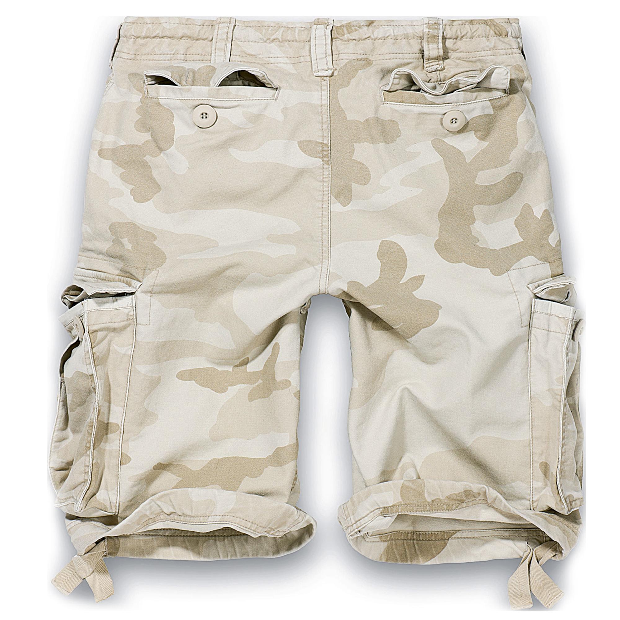 Brandit-Vintage-Herren-Cargo-Shorts-Bermuda-Kurze-Hose-Short-US-Army-Ranger Indexbild 14