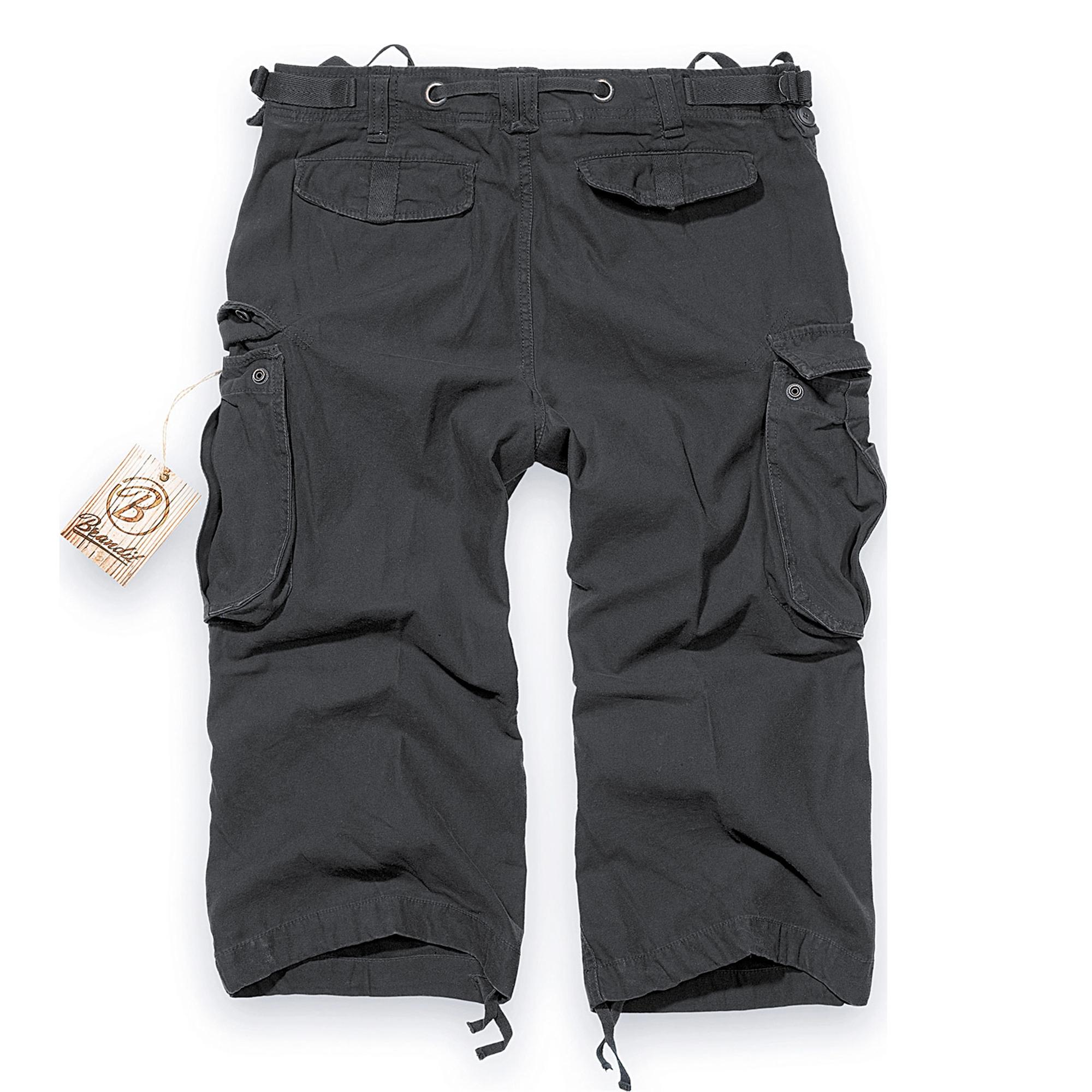 Brandit-Industry-3-4-Herren-Cargo-Shorts-Bermuda-Kurze-Hose-Short-US-Army-Ranger Indexbild 6