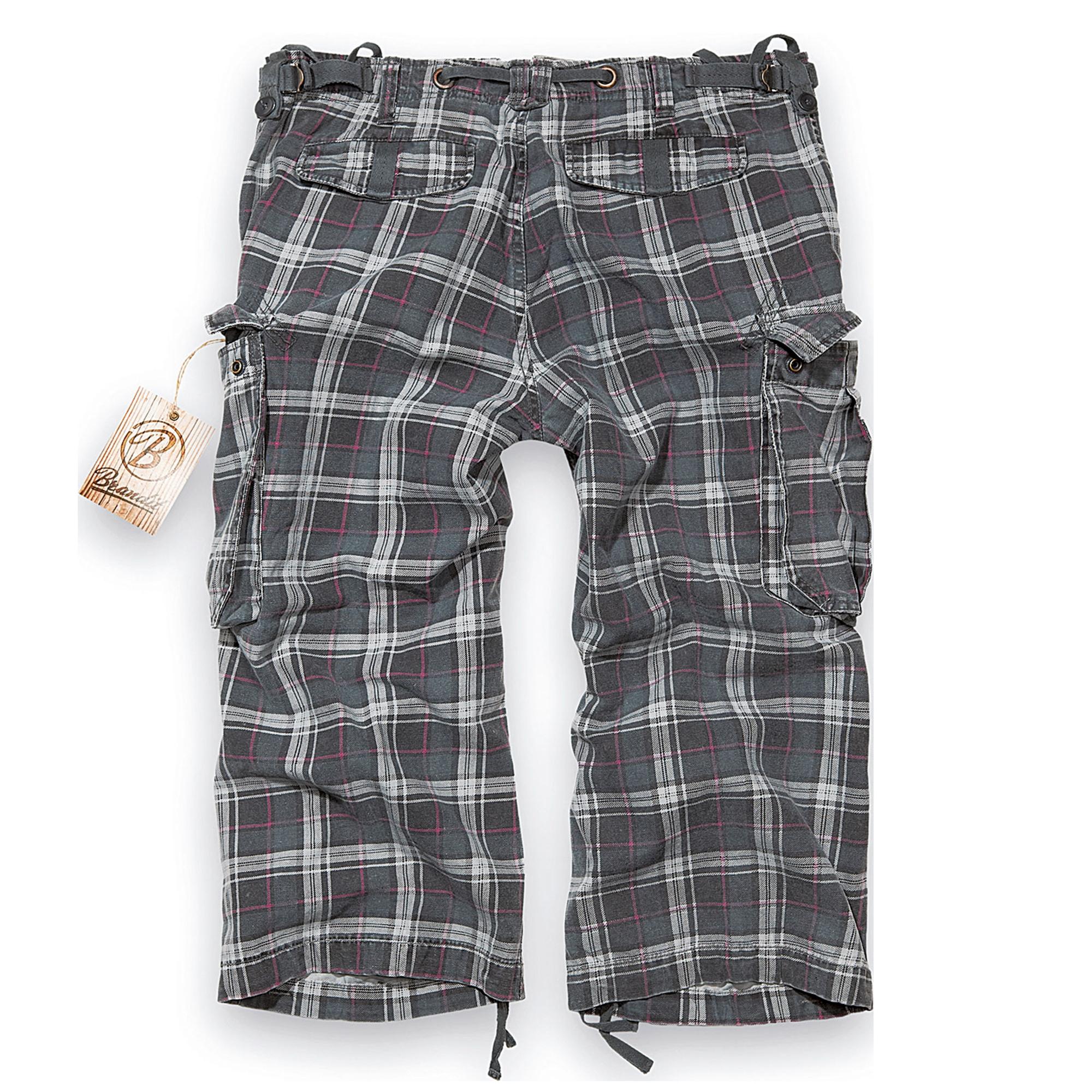 Brandit-Industry-3-4-Herren-Cargo-Shorts-Bermuda-Kurze-Hose-Short-US-Army-Ranger Indexbild 12