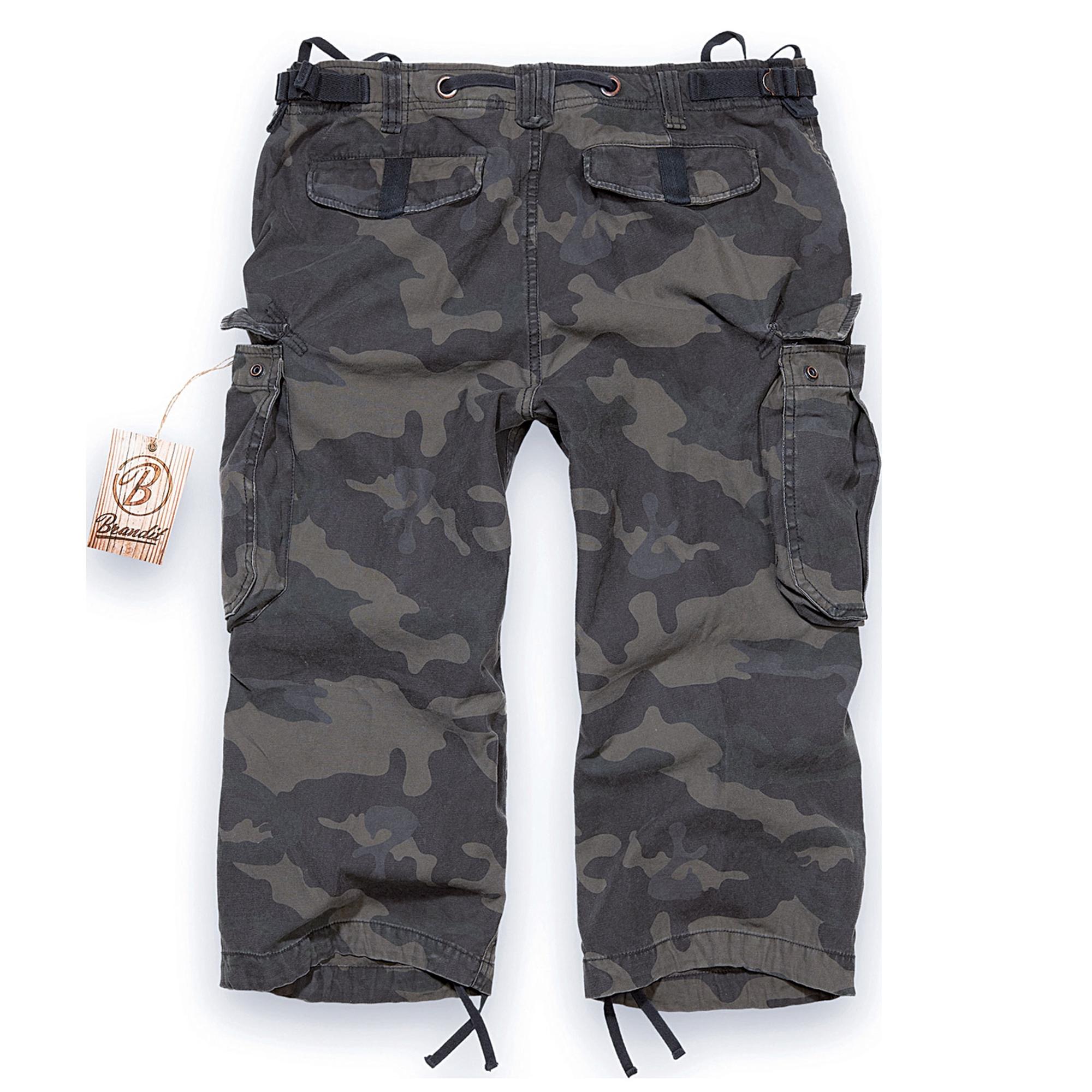 Brandit-Industry-3-4-Herren-Cargo-Shorts-Bermuda-Kurze-Hose-Short-US-Army-Ranger Indexbild 10