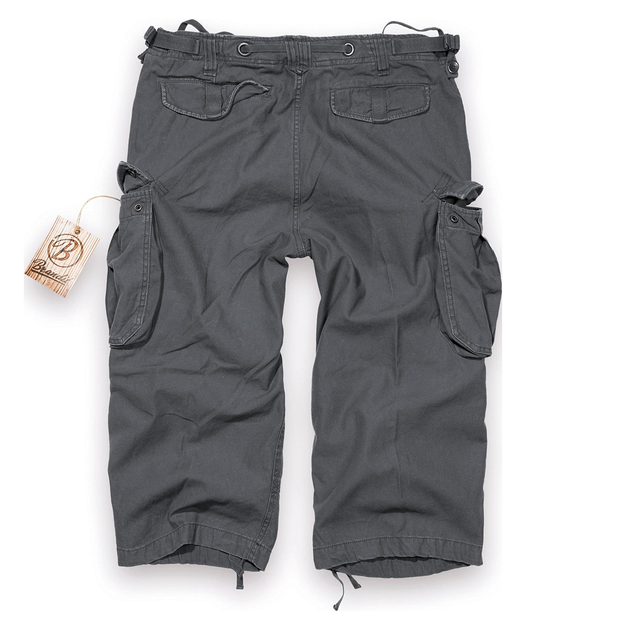 Brandit-Industry-3-4-Herren-Cargo-Shorts-Bermuda-Kurze-Hose-Short-US-Army-Ranger Indexbild 8