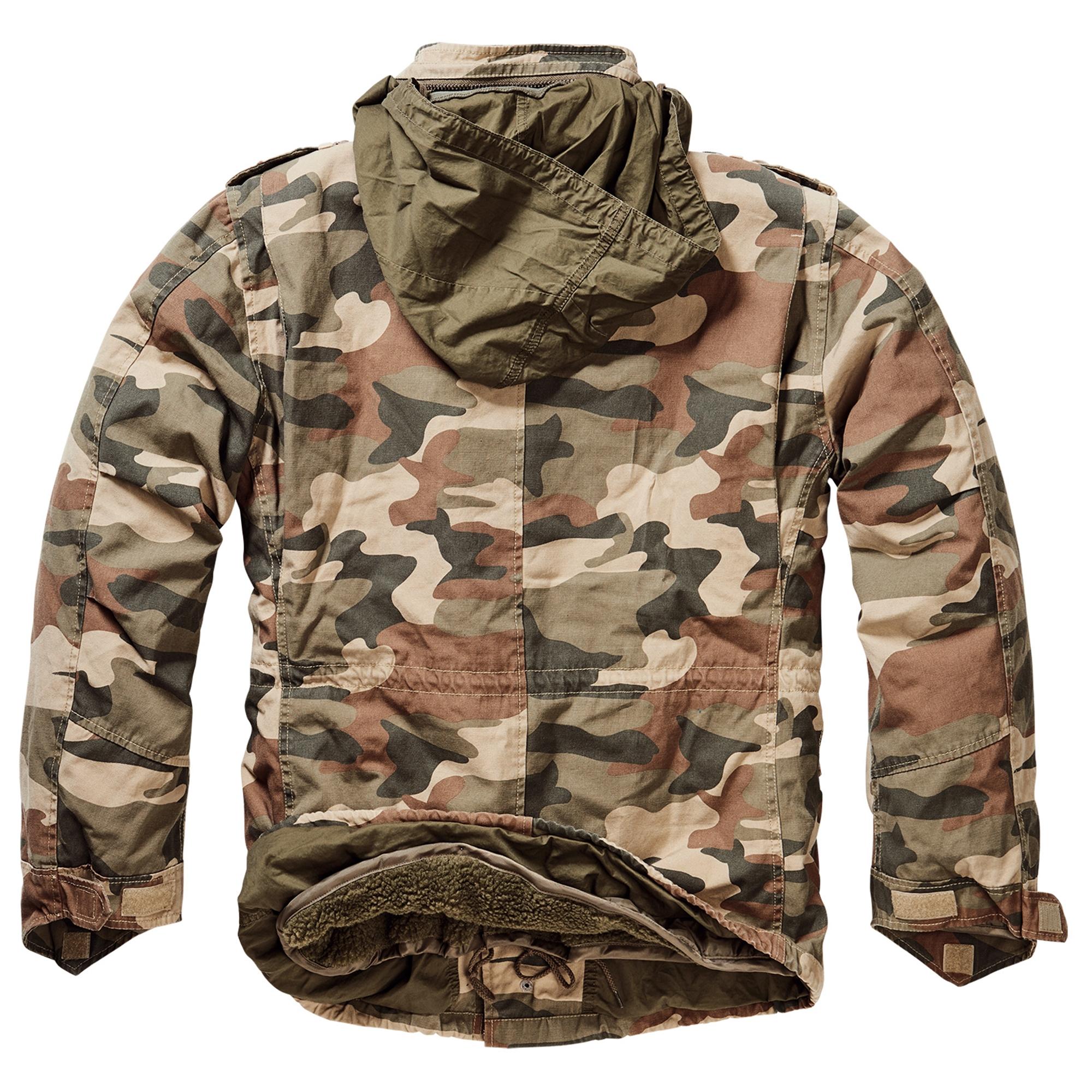 Brandit-M65-Giant-Herren-Jacke-Vintage-Feldjacke-Army-Outdoor-Parka-Futter-S-7XL Indexbild 21