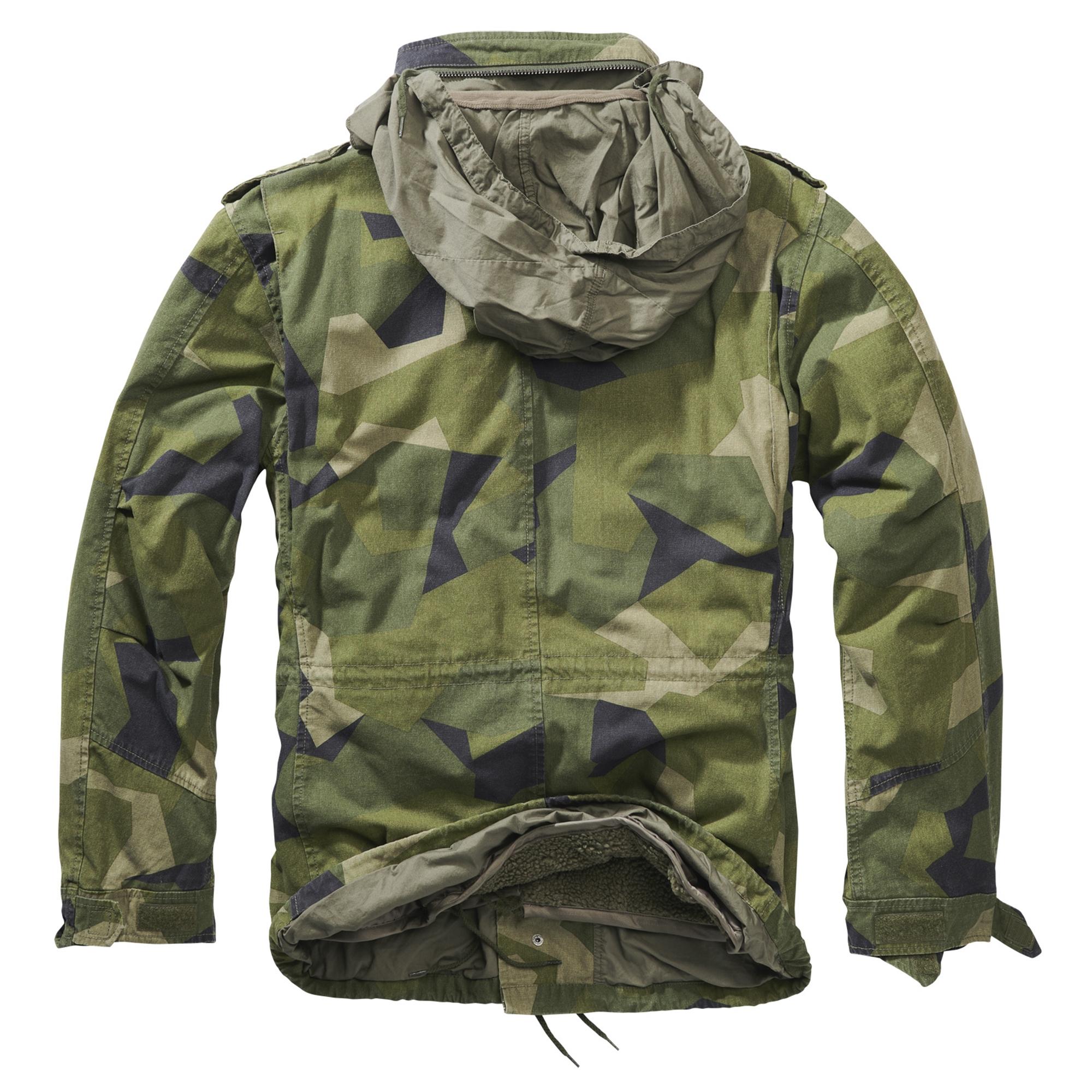 Brandit-M65-Giant-Herren-Jacke-Vintage-Feldjacke-Army-Outdoor-Parka-Futter-S-7XL Indexbild 25