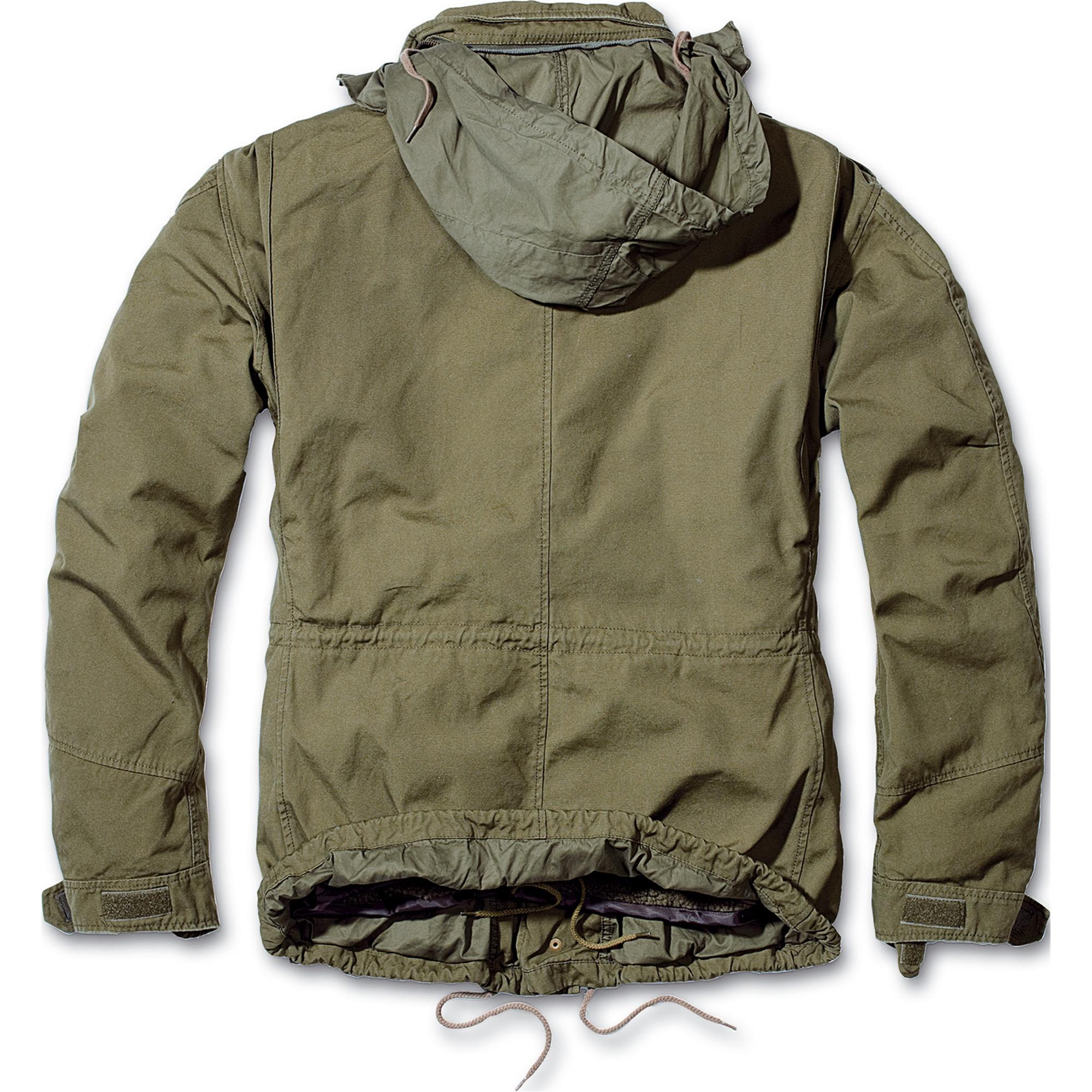 Brandit-M65-Giant-Herren-Jacke-Vintage-Feldjacke-Army-Outdoor-Parka-Futter-S-7XL Indexbild 9