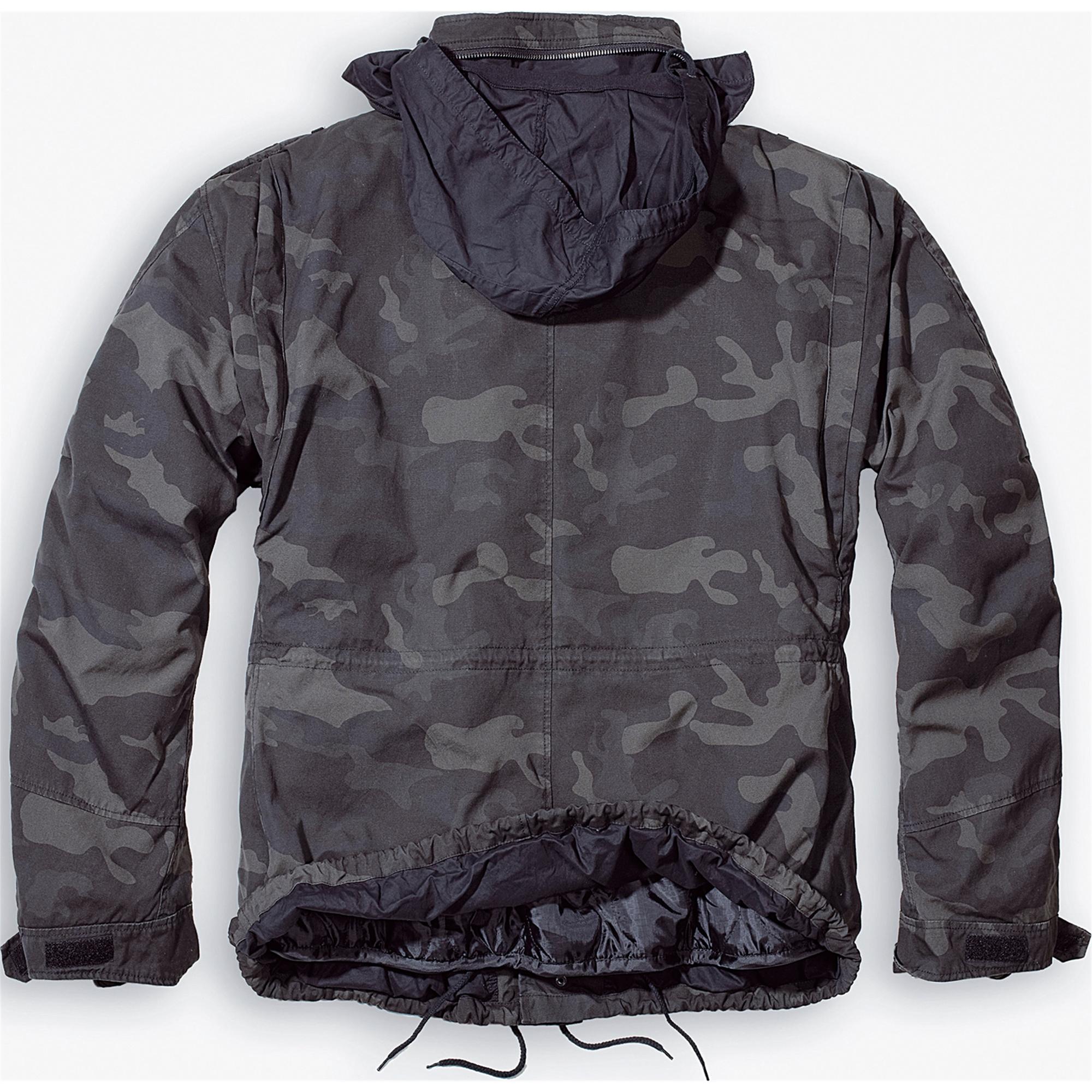 Brandit-M65-Giant-Herren-Jacke-Vintage-Feldjacke-Army-Outdoor-Parka-Futter-S-7XL Indexbild 15
