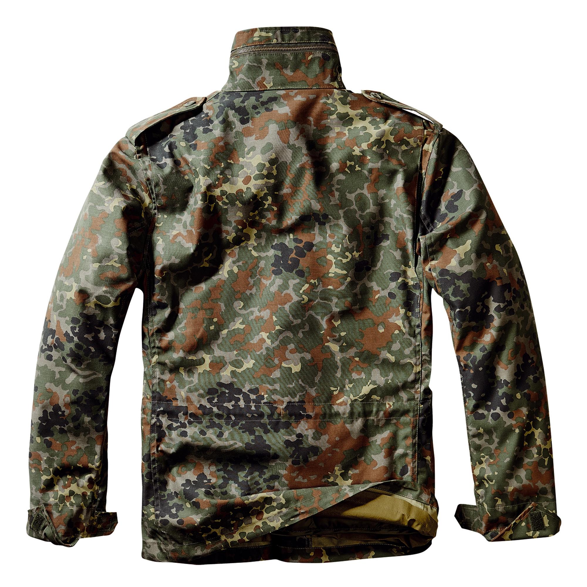 Brandit-M65-Standard-Feldjacke-Herren-2in1-Jacke-Winterjacke-US-Parka-mit-Futter Indexbild 18