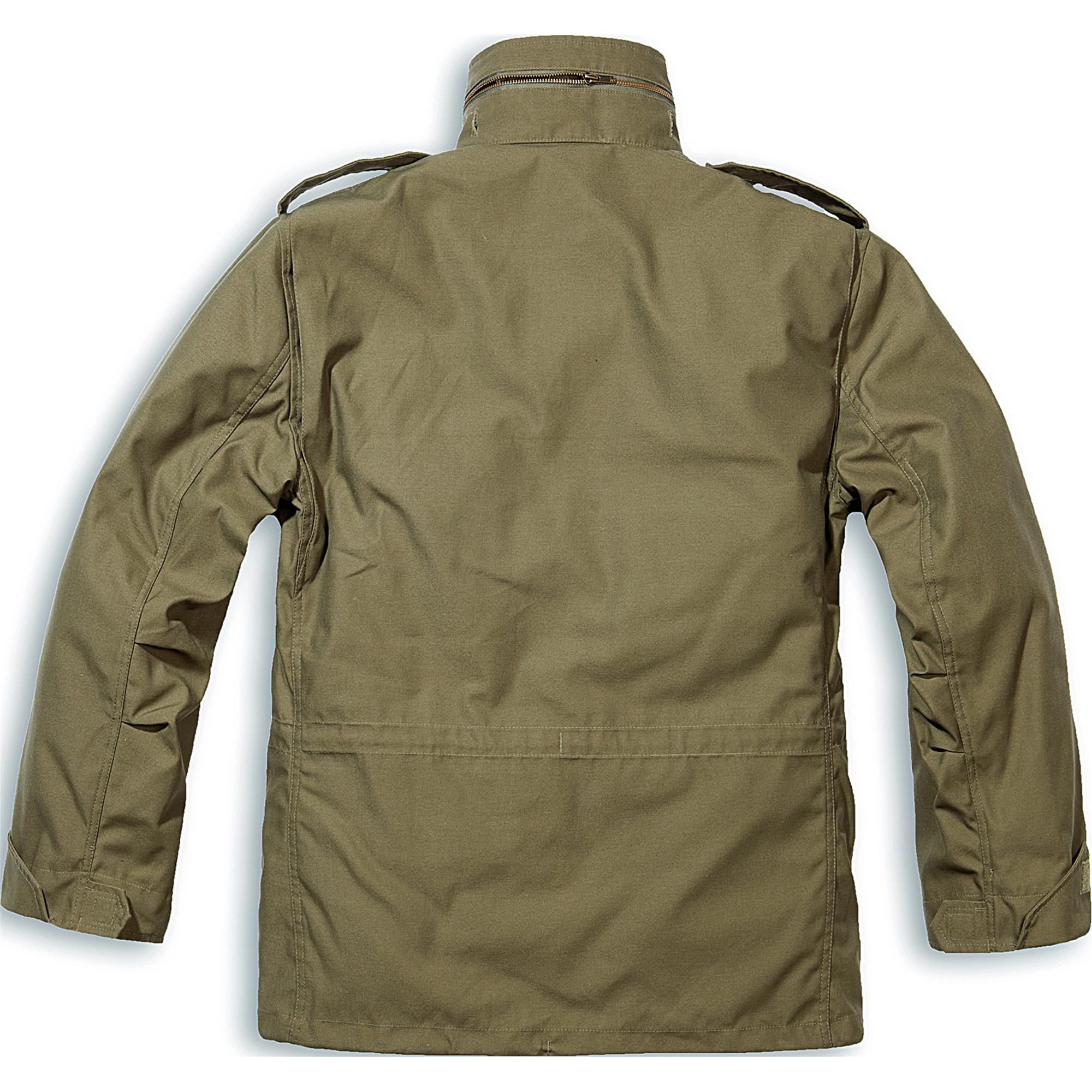 Brandit-M65-Standard-Feldjacke-Herren-2in1-Jacke-Winterjacke-US-Parka-mit-Futter Indexbild 6