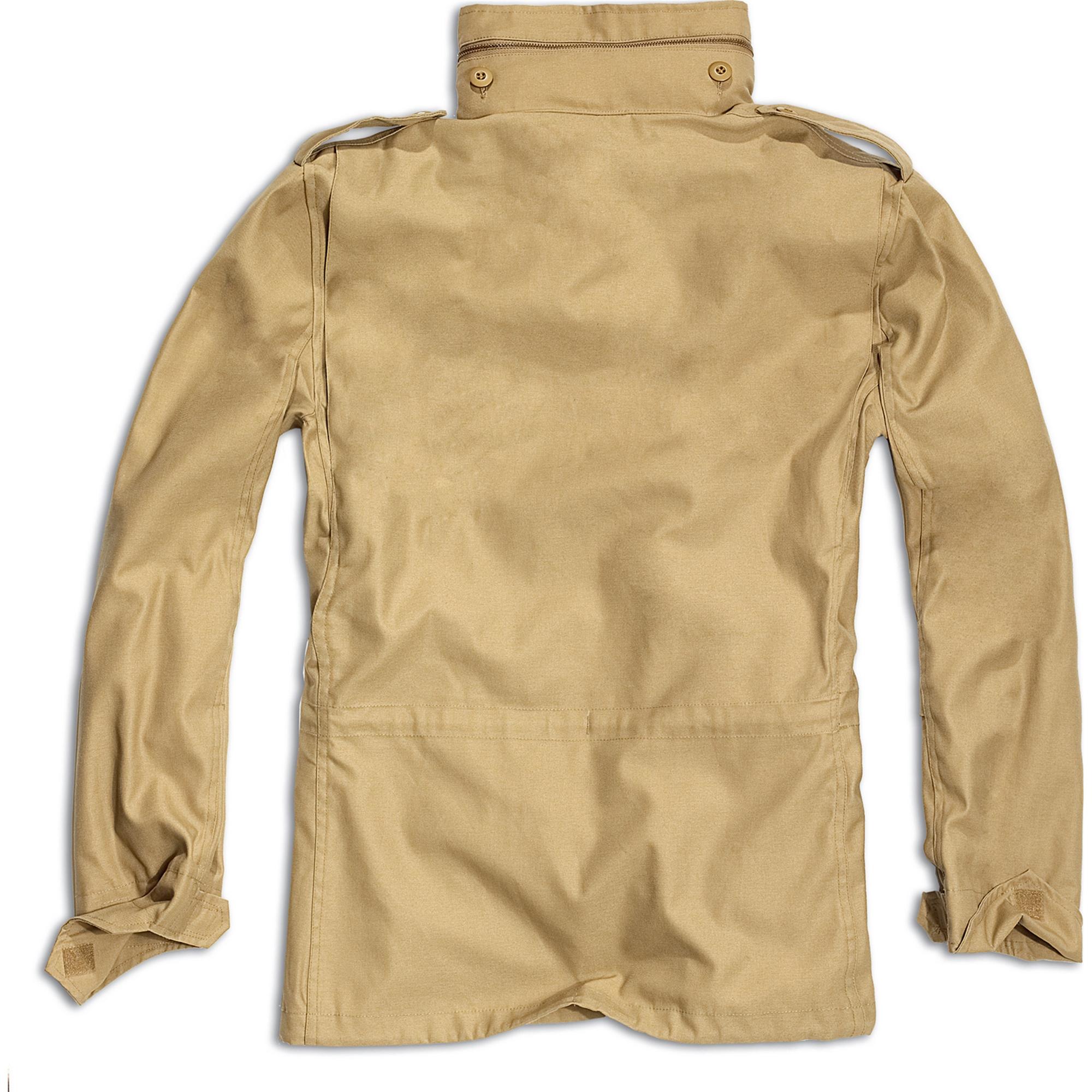 Brandit-M65-Standard-Feldjacke-Herren-2in1-Jacke-Winterjacke-US-Parka-mit-Futter Indexbild 10