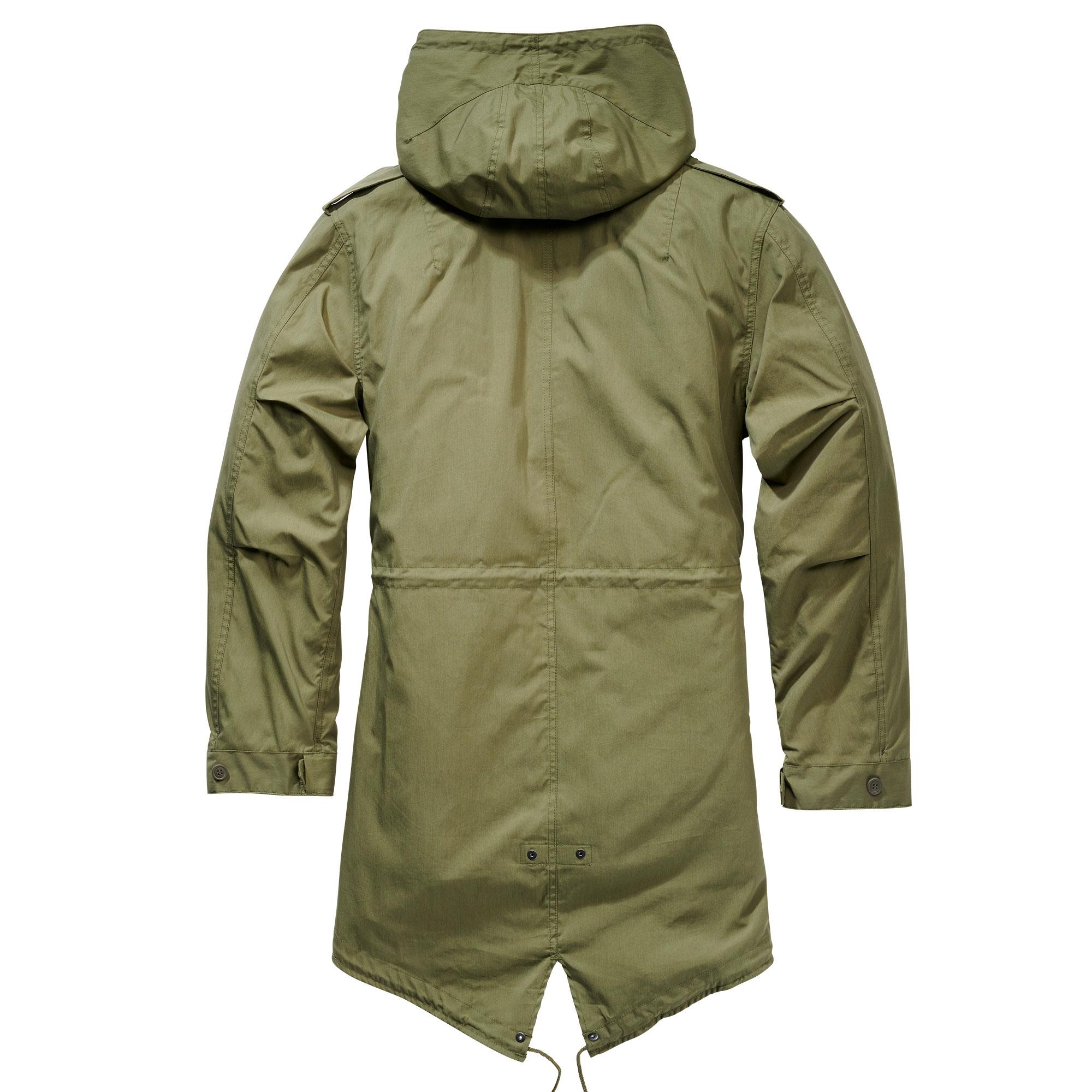 Indexbild 9 - Brandit US M51 Parka Winterjacke Fishtail Jacke Gefüttert Armee S-5XL
