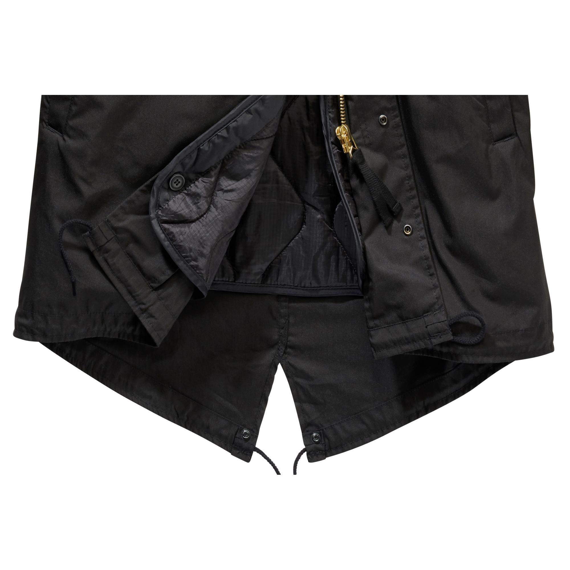 Indexbild 7 - Brandit US M51 Parka Winterjacke Fishtail Jacke Gefüttert Armee S-5XL