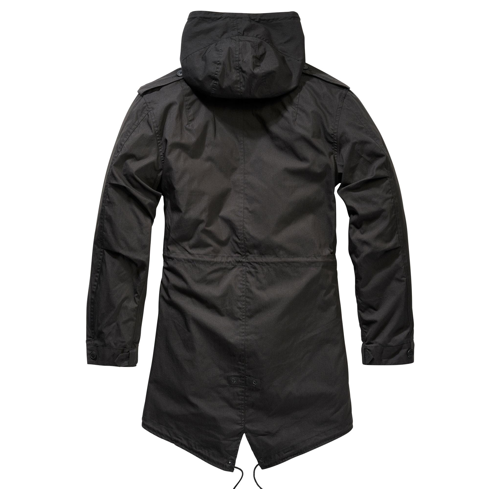 Indexbild 4 - Brandit US M51 Parka Winterjacke Fishtail Jacke Gefüttert Armee S-5XL
