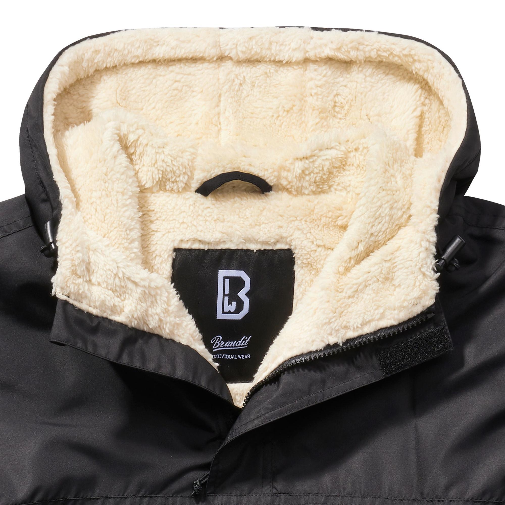 Brandit-Lumberjack-Kapuzen-Jacke-gefuettert-Holzfaellerhemd-Winterjacke-S-5XL Indexbild 5