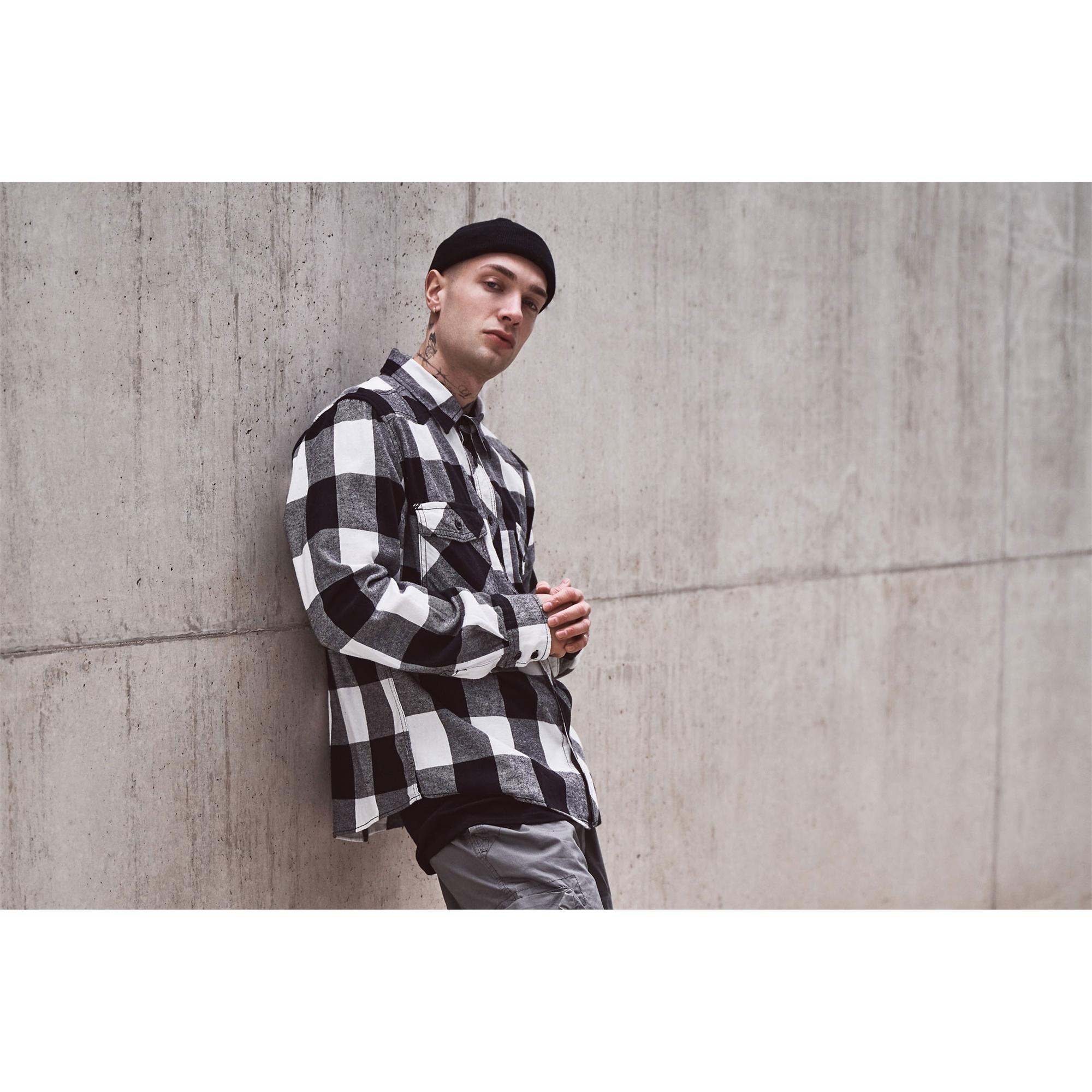 Indexbild 13 - Brandit Check Shirt Holzfäller Hemd Flanell Woodcutter Karo Freizeithemd S-7XL