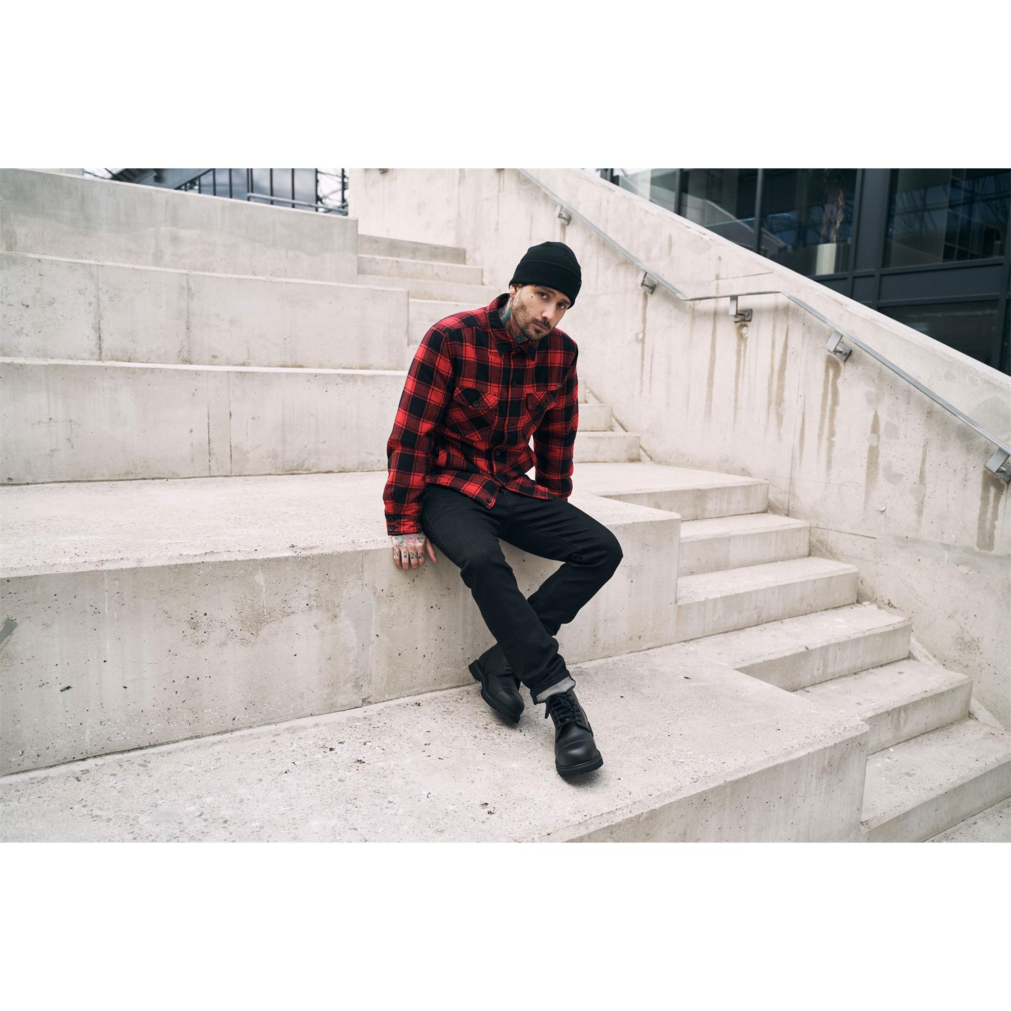 Brandit-Lumberjacket-Maenner-Ubergangsjacke-Holzfaellerhemd-Jacke-S-5XL Indexbild 6