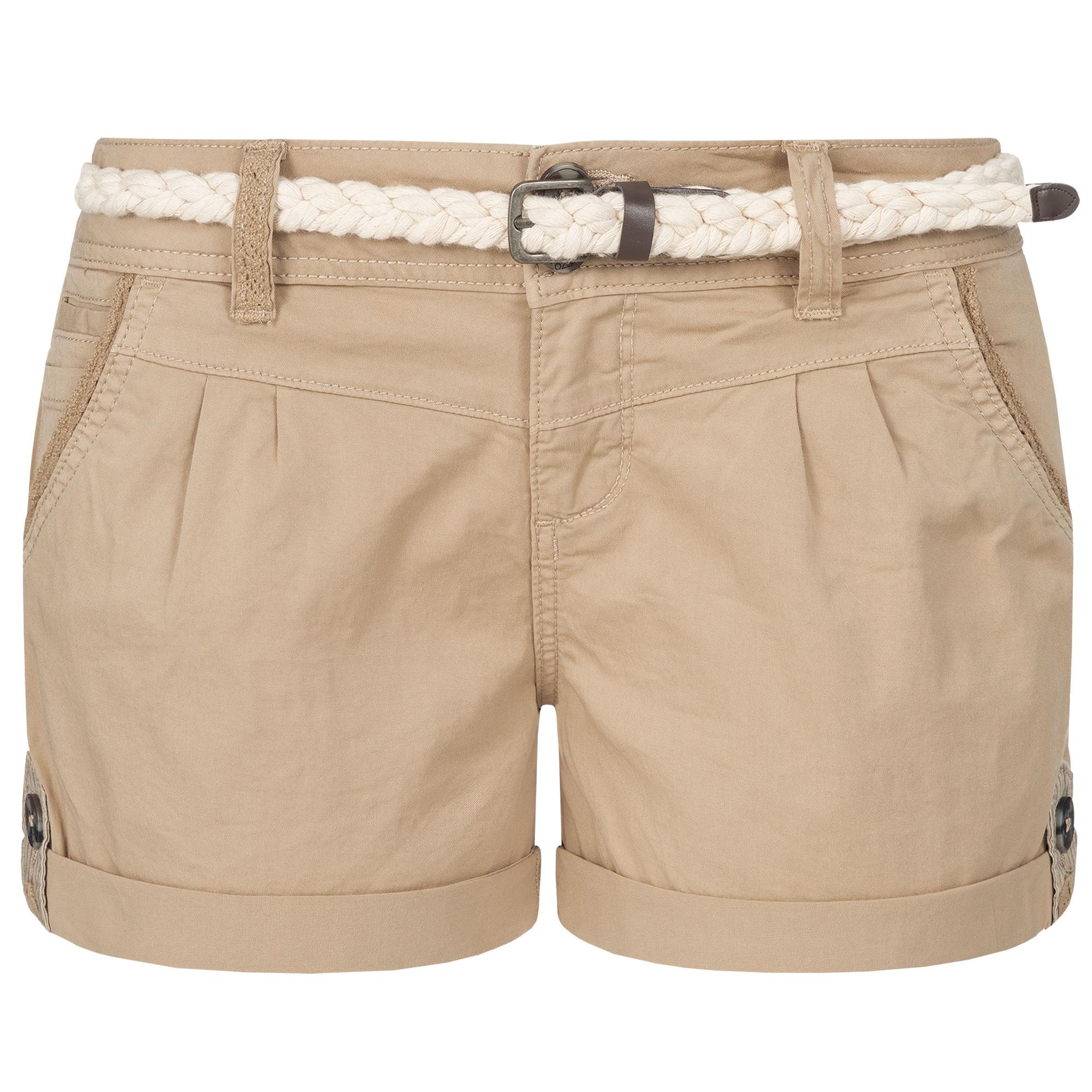 Indexbild 24 - Eight2Nine Damen Chino Bermuda Stretch Shorts mit Flecht Gürtel Hotpants