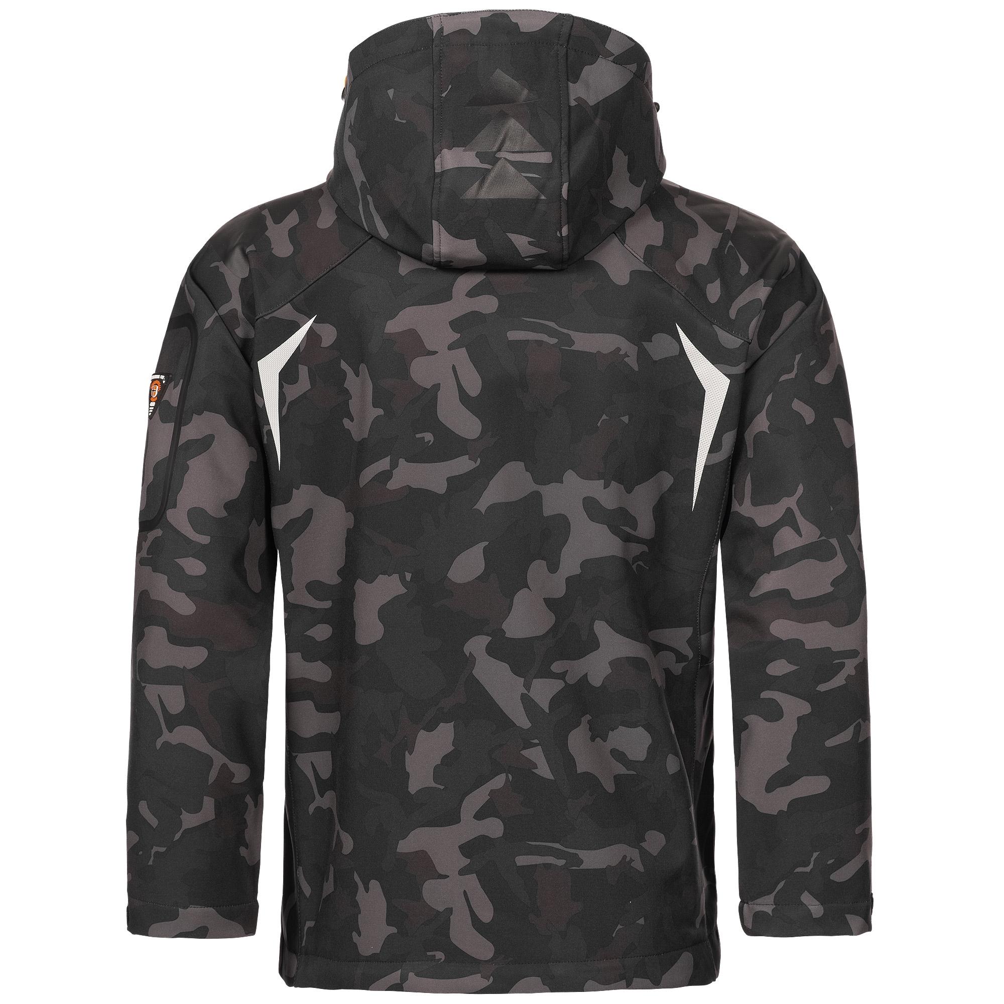 Geographical-Norway-Camouflage-Herren-Softshell-Funktions-Outdoor-Regen-Jacke Indexbild 10