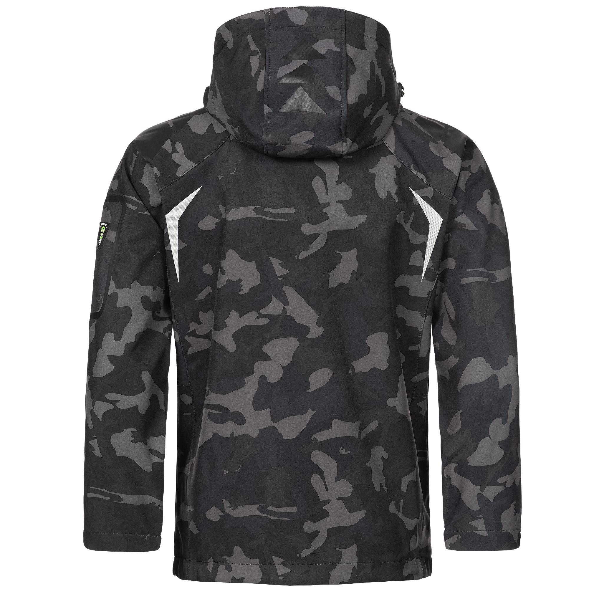 Geographical-Norway-Camouflage-Herren-Softshell-Funktions-Outdoor-Regen-Jacke Indexbild 4