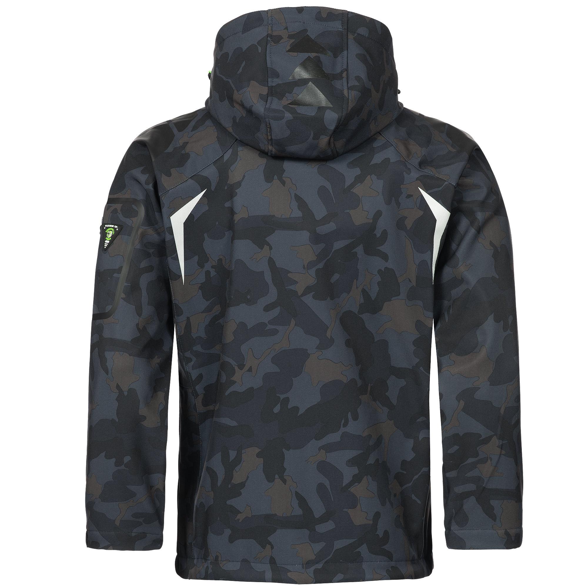 Geographical-Norway-Camouflage-Herren-Softshell-Funktions-Outdoor-Regen-Jacke Indexbild 7
