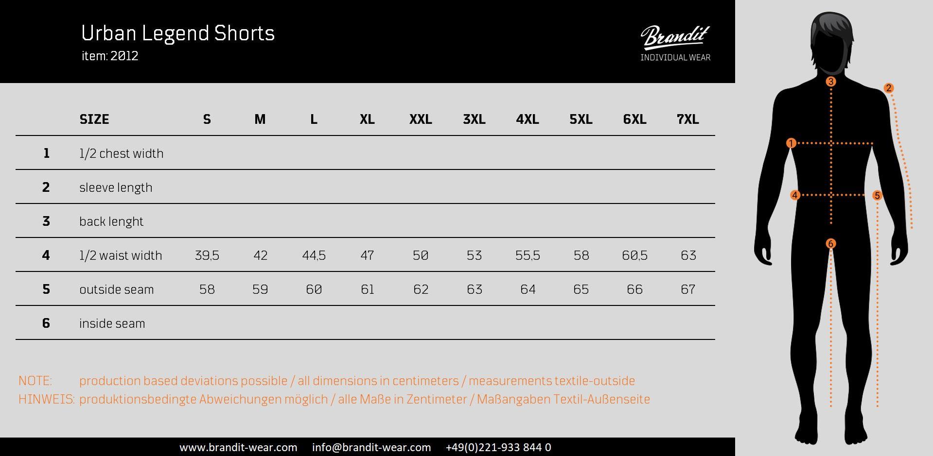 Brandit-Urban-Legend-Herren-Cargo-Shorts-Bermuda-Kurze-Hose-Short-US-Army Indexbild 4
