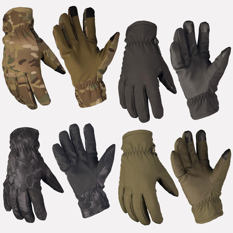Mil-Tec Softshell Handschuhe Thinsulate/™ Oliv
