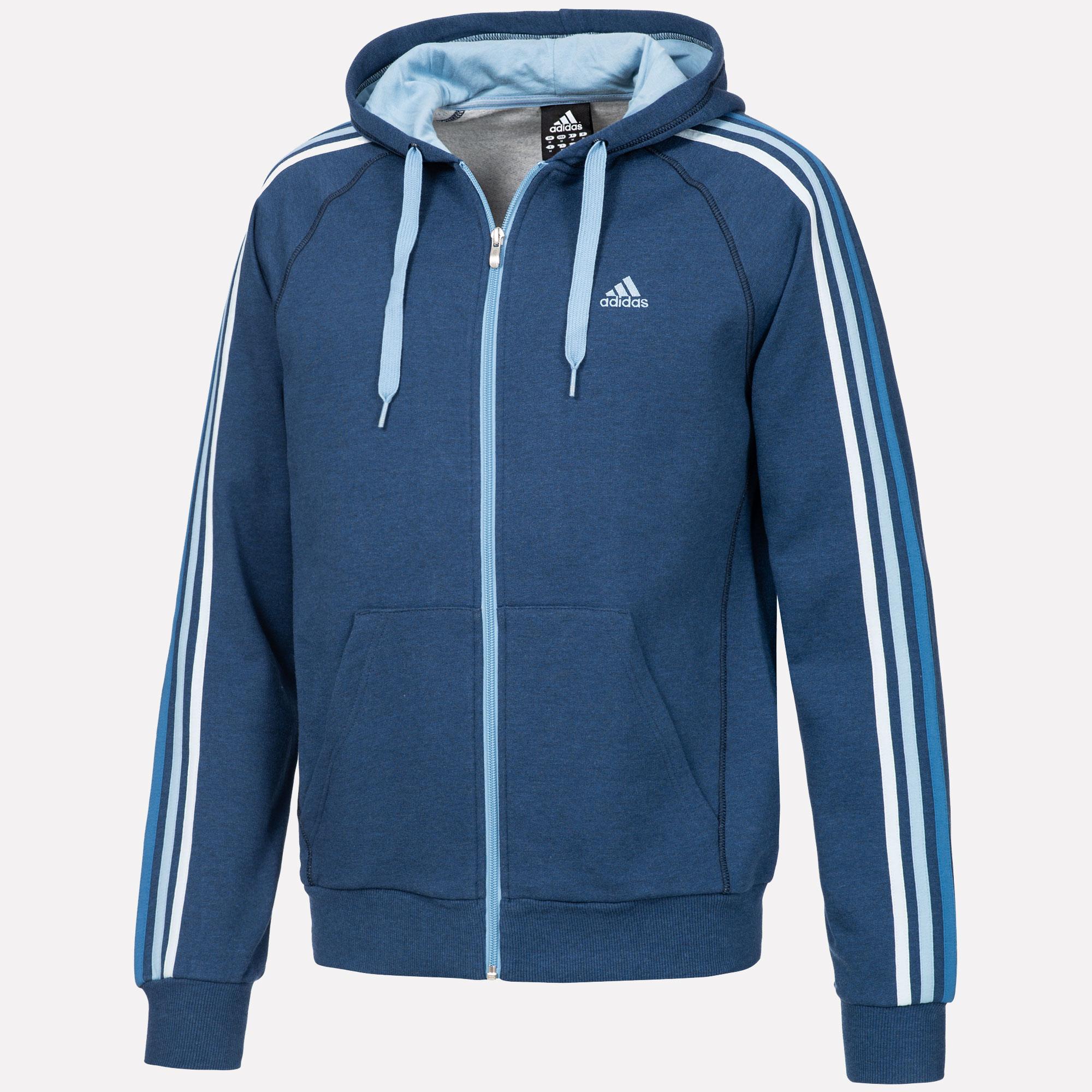 ADIDAS ORIGINALS Sweatshirt aus Baumwolle in Blau Türkis