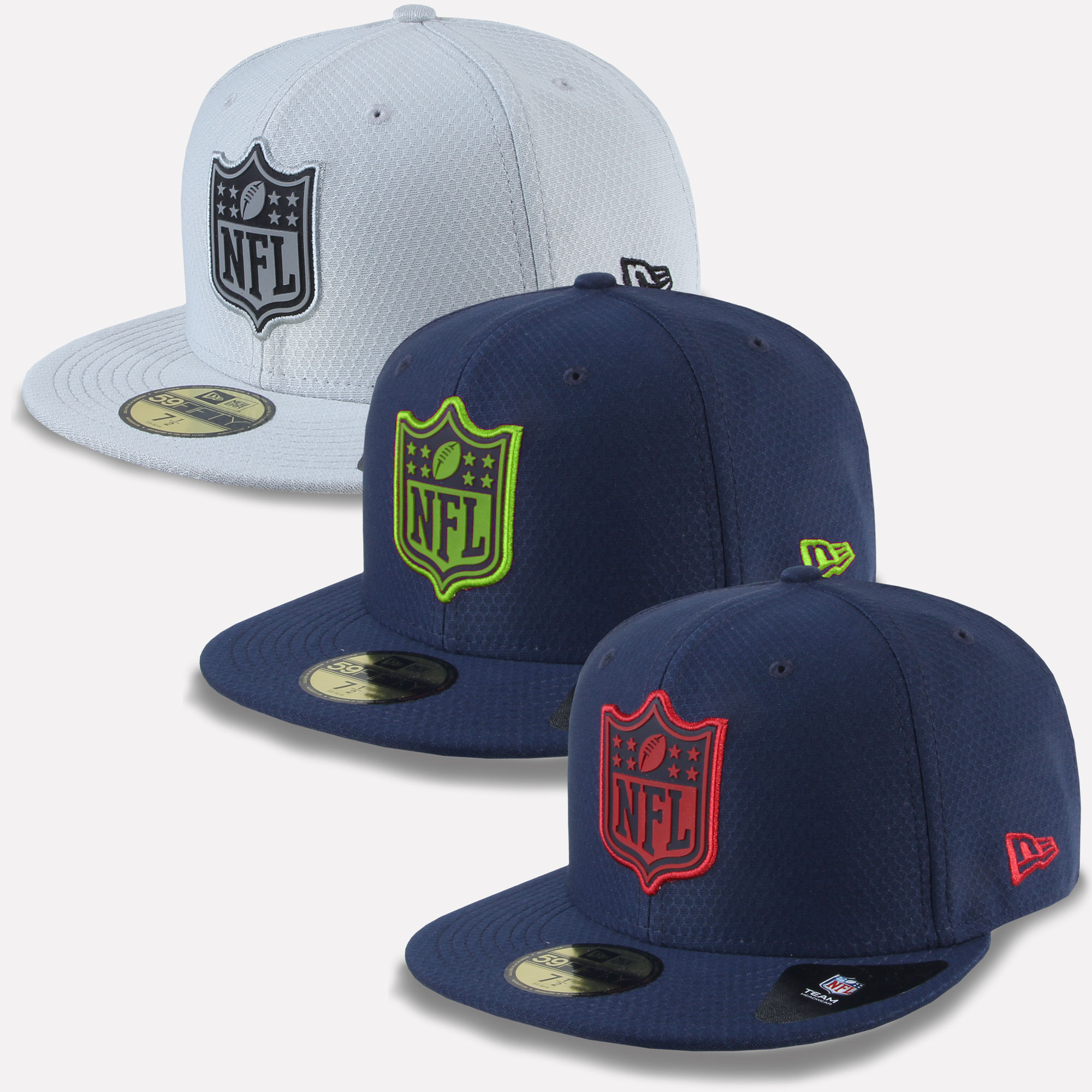 40a34975ec92e New Era Cap 59Fifty NFL League Logo Fit Seattle Seahawks Patriots ...