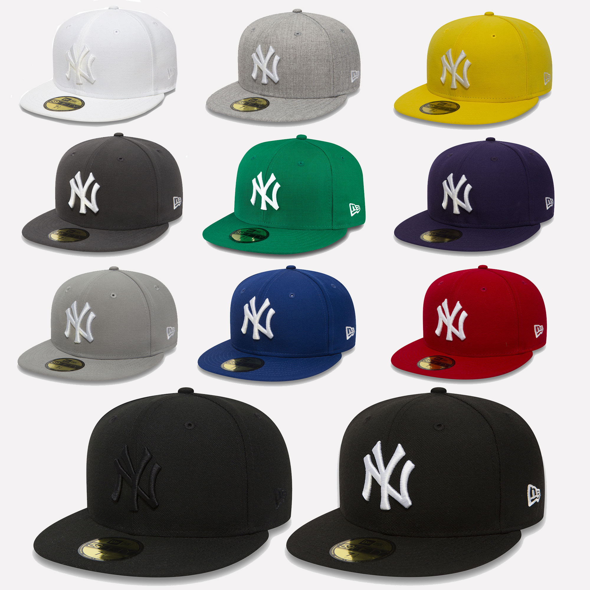New Era Cap 59Fifty Fitted New York Yankees MLB Baseball Baseball ... 81b409c3304