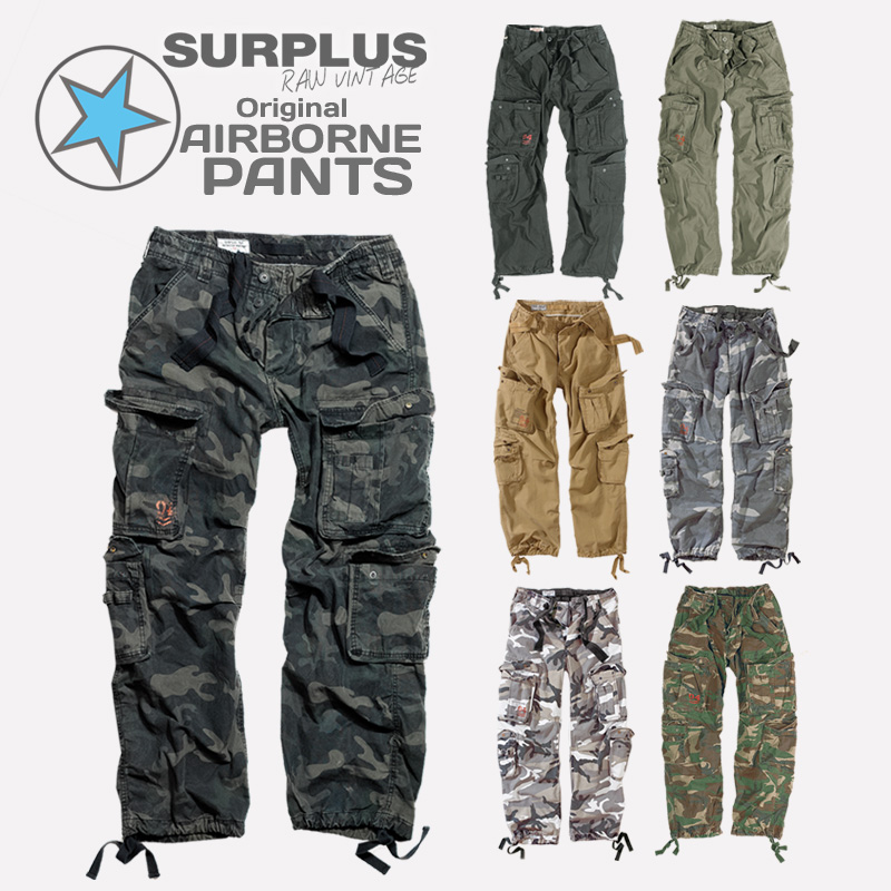Herren Cargohose Airborne Hosen Bermuda Shorts Army Hose Camo Freizeithose