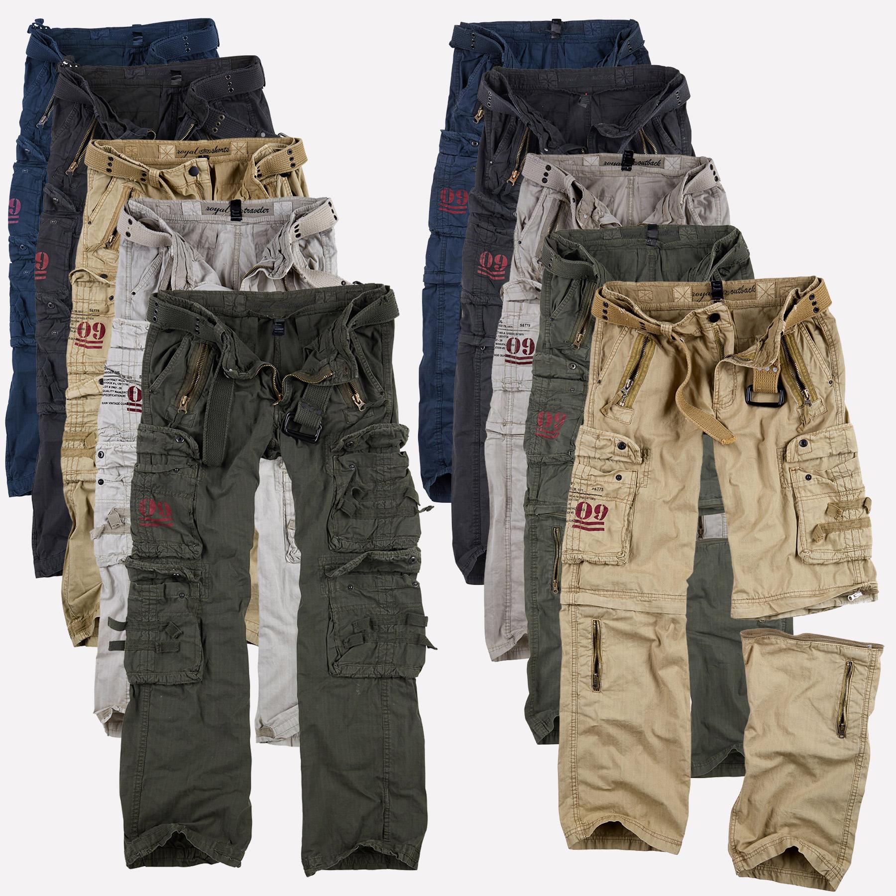 surplus raw vintage u s royal traveler outback premium trousers cargo hose ebay. Black Bedroom Furniture Sets. Home Design Ideas