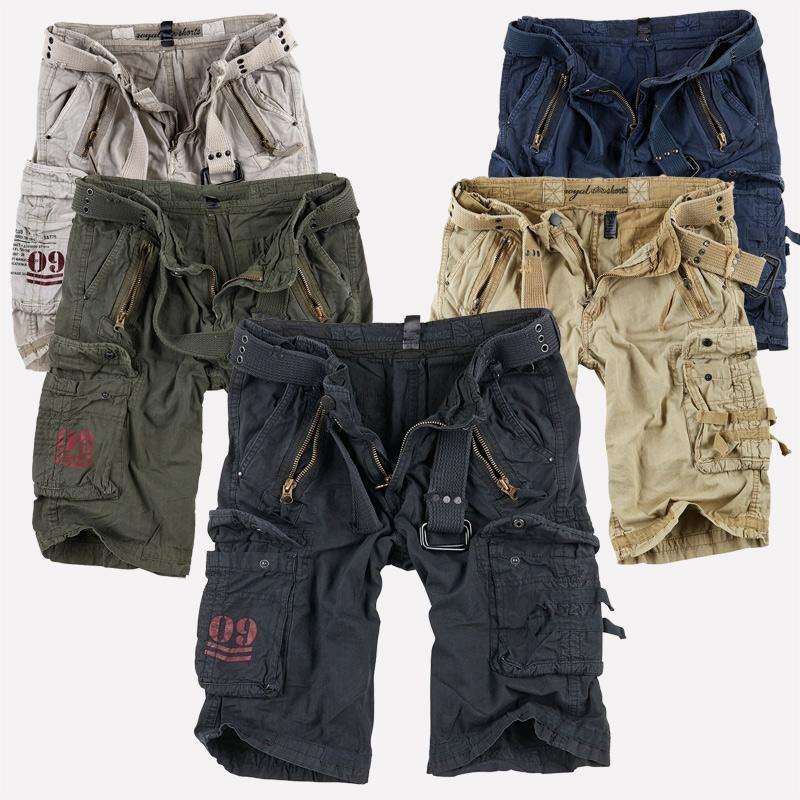 Dettagli su Surplus Raw Vintage Royal Premium Shorts Pantaloni Corti Bermuda US Army Cargo Pant mostra il titolo originale