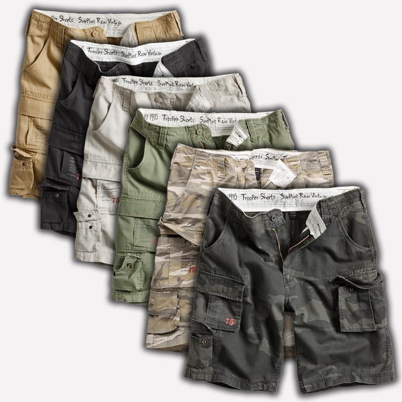 Details about Surplus Raw Cargo Short Trooper Shorts Cargo Pants Bermuda Army Military xs 7xl show original title