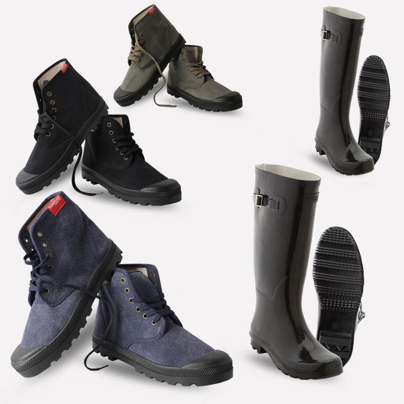 surplus raw vintage desert boots trooper vulc gummistiefel f r damen herren ebay. Black Bedroom Furniture Sets. Home Design Ideas