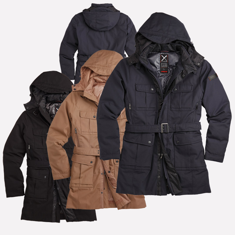 SURPLUS presents the new Xylontum series here in its high-quality Xylontum  winter coat. A thick down jacket for anyone who would like to have it warm  with ... 9a678dc75e60