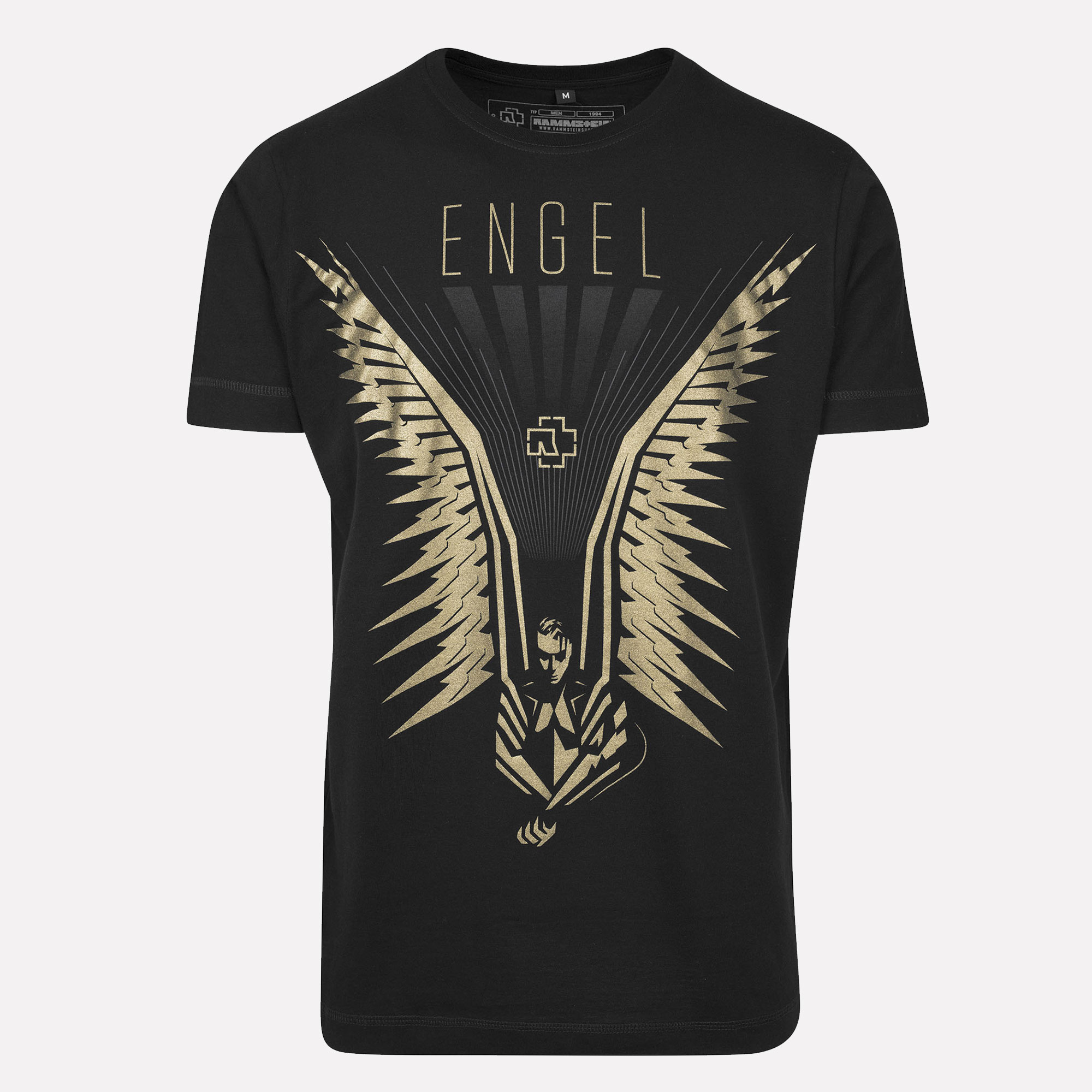 83698267b8a293 Merchcode Rammstein Herren T-Shirt Metal Band Shirt Engel Hemd ...