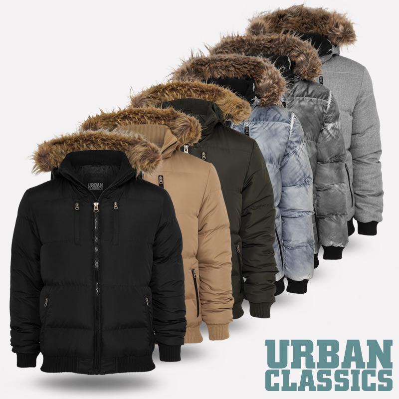 Urban classics winterjacke herren