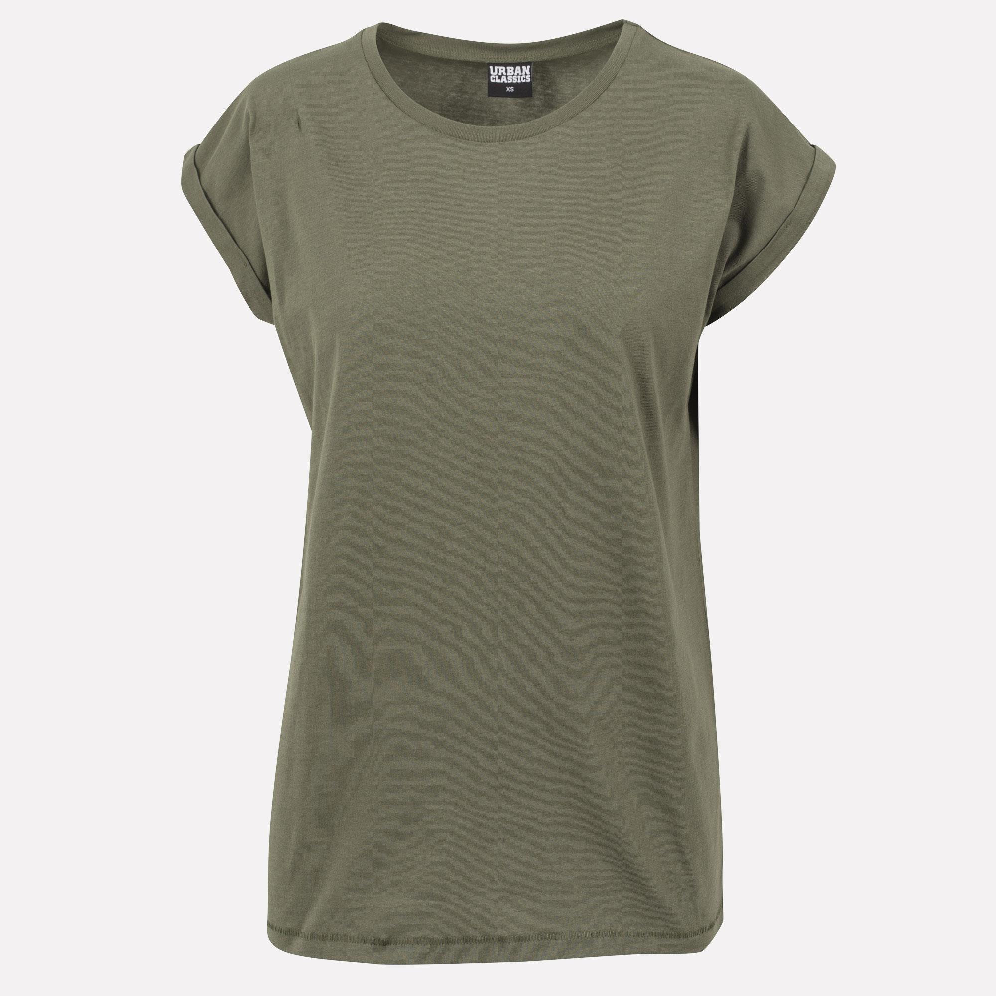 URBAN CLASSICS Damen T-shirt Shirt loose tee basic weiß schwarz grau TB771